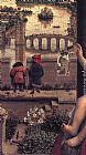 Jan Van Eyck Wall Art - The Virgin of Chancellor Rolin [detail 1]